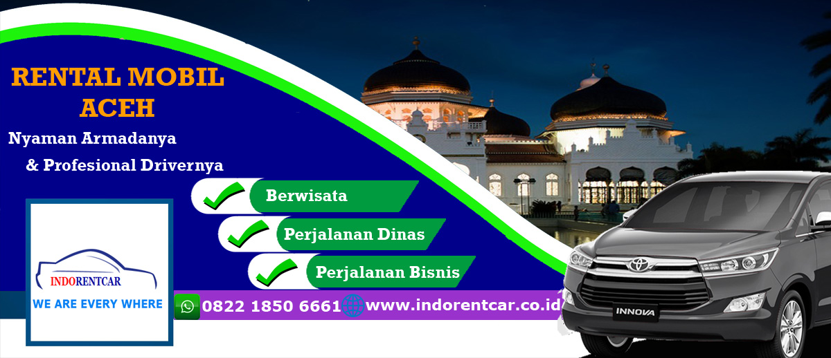 Rental Mobil Aceh